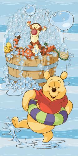 """Детское махровое полотенце """"Винни и Тигруля"""" Дисней (Disney) 70х140"""