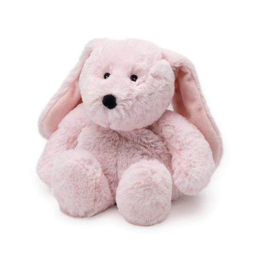 Игрушка-грелка СВЧ Кролик розовый (Intelex, Cozy Plush)