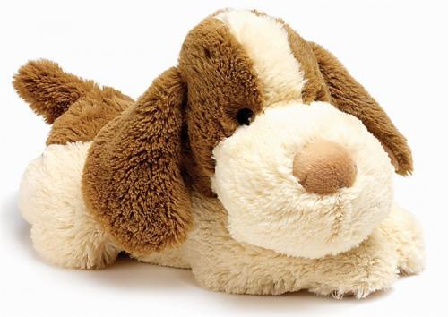 Игрушка-грелка СВЧ Щенок (Intelex, Cozy Plush)