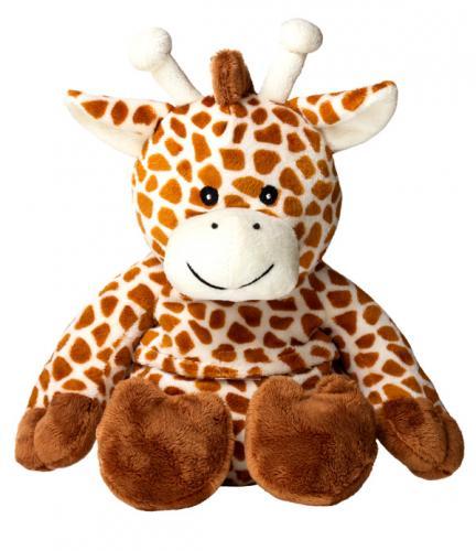 Игрушка-грелка СВЧ Жираф (Теплые объятия, СПА Бэлль)