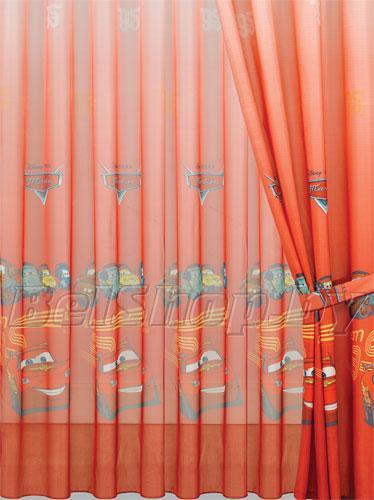 """Комплект детских штор в детскую комнату Мона Лиза """"Тачки-2"""" (Дисней, Mona Liza Disney) 500750/2"""