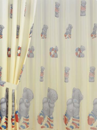 """Комплект детских штор в детскую комнату Мона Лиза """"Тедди"""" (Дисней, Mona Liza Teddy) 500750/6"""