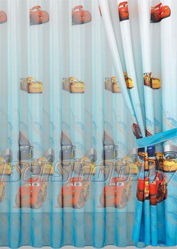 """Комплект детских штор в детскую комнату Мона Лиза """"Тачки-1"""" (Дисней, Mona Liza Disney) 500750/1"""