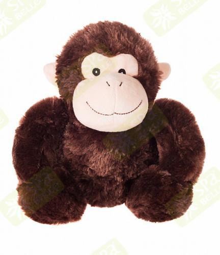 Игрушка-грелка СВЧ Обезьяна коричневая (Теплые объятия, СПА Бэлль)