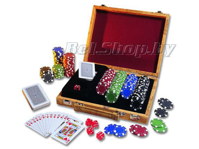 Набор для покера в кейсе арт.75184