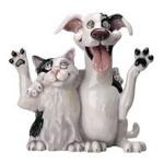 Фигурка кошки и собаки, арт. 520 Jack&Jill