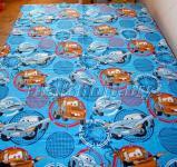 "Простыня на резинке ""Тачки-2 синие"" (Disney, садик) 90х200х25"