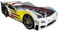 Детская кровать машина для ребенка Сигма Премиум 3D