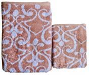Полотенце бамбуковое Vine бордо 70x140 Мона Лиза Премиум 528678