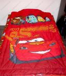 """Одеяло детское полутороспальное зимнее """"Тачки красные"""" (Disney, садик)"""