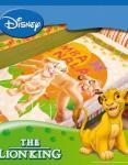 """Одеяло детское полутороспальное зимнее """"Король лев"""" Дисней (Disney, садик)"""
