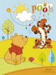 """Детский плед флисовый """"Винни и Тигра"""" Дисней (Disney) 150х200"""