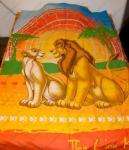 """Одеяло детское полутороспальное зимнее """"Король лев 2"""" Дисней (Disney, садик)"""